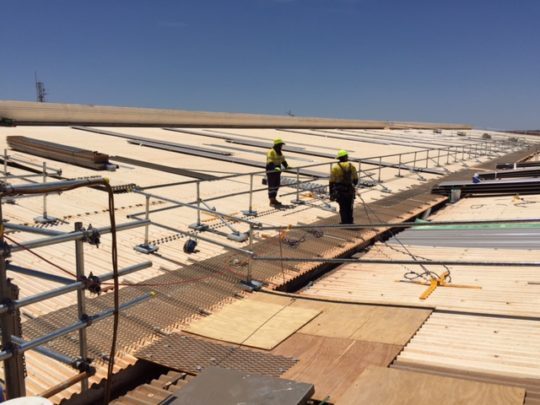Dampier-Commercial-Roofing-Project