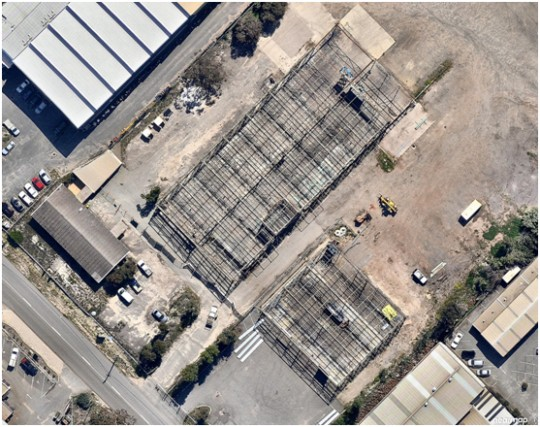 Perth-Warehouse-Cladding-Overhead-Before
